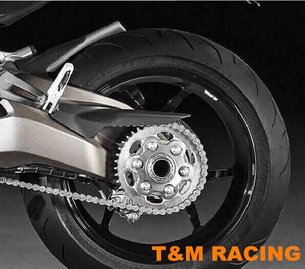 Circlip de rondelle d'écrou d'essieu de pignon arrière pour toutes les motos Ducati