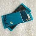100% original nuevo real cubierta trasera para sony xperia m4 Aqua E2363 caja de puerta de La batería Con NFC Antena Impermeable adhesivo