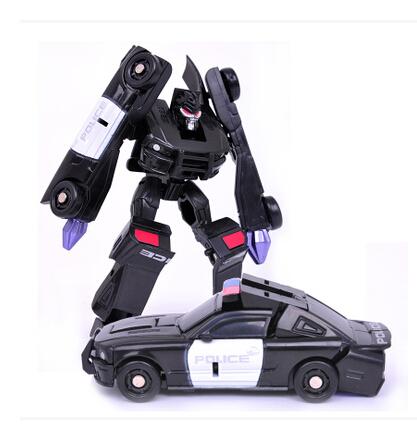 8cm Mini Classic Transformation Plastic Robot Cars