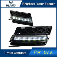 2PCS LED Daytime Running Light DRL For Mercedes Benz GLK 300 GLK350 2008 2012 White Yellow