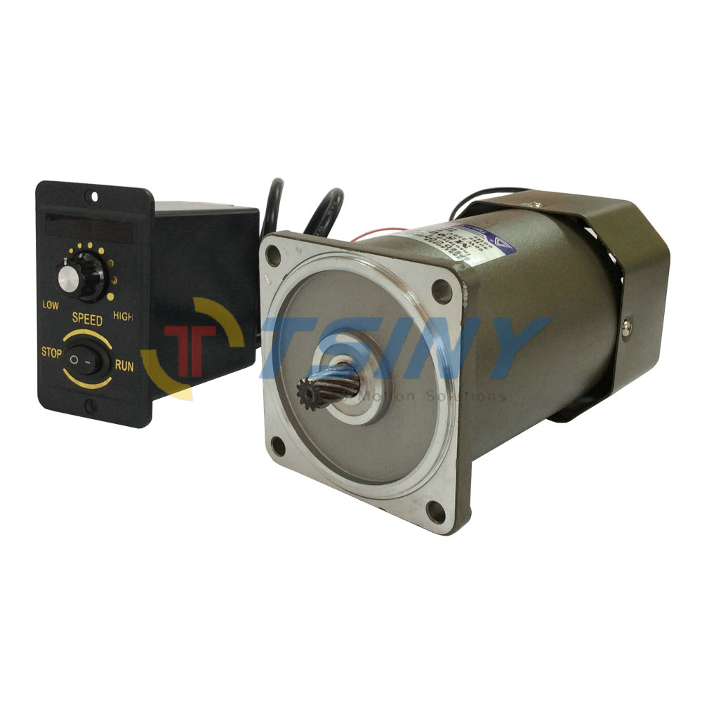 Ac motor 90w 220v high speed high torque electric motor for Speed control of ac motor
