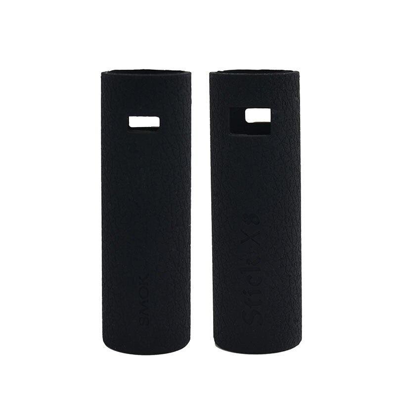 a03570a81a25e 2 pcs SMOK Vara X8 caso capa de Silicone manga e pele de Silicone adesivo  manga envoltório para o Pen Vape SMOKTECH Vara kit X8 caixa Ego em Casos de  ...