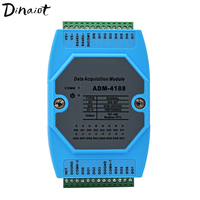 Digital input & output modules isolated switch data Acquisition Module 8DI/8DO RS485 MODBUS RTU protocol for PLC DCS