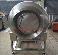 Can customized Large 1000 L stainless steel vacuum meat tumbler salted food rotary barrel tumbling machine
