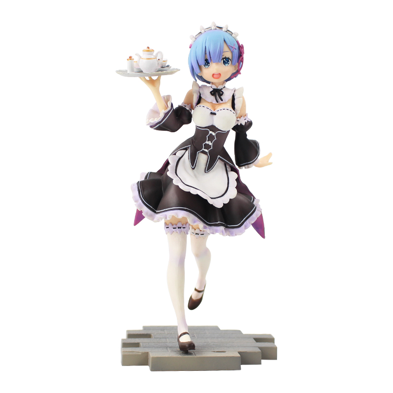 Life In A Different World From Zero Nendoroid Wearing A Pajamas Dress Rem Model Cartoon Anime Action Figure Toys 23cm Anime Re Action & Toy Figures