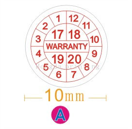Free shipping 500pcs/lot Warranty sealing label sticker void if seal broken, fragile label,diameter 1cm fragile warranty sticker shall be null and void the warranty and black and red round 0 25 cm vulnerable if mobile