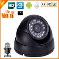 DC 5 V 2A SLOT PARA Cartão SD de Áudio Câmera IP Sem Fio Indoor Câmera Dome IP P2P Câmera IP Wi-fi de Áudio Com Microfone Interno