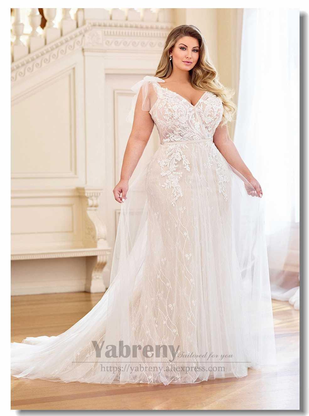 2019 New Arrival Plus Size Wedding Dresses Aliexpress