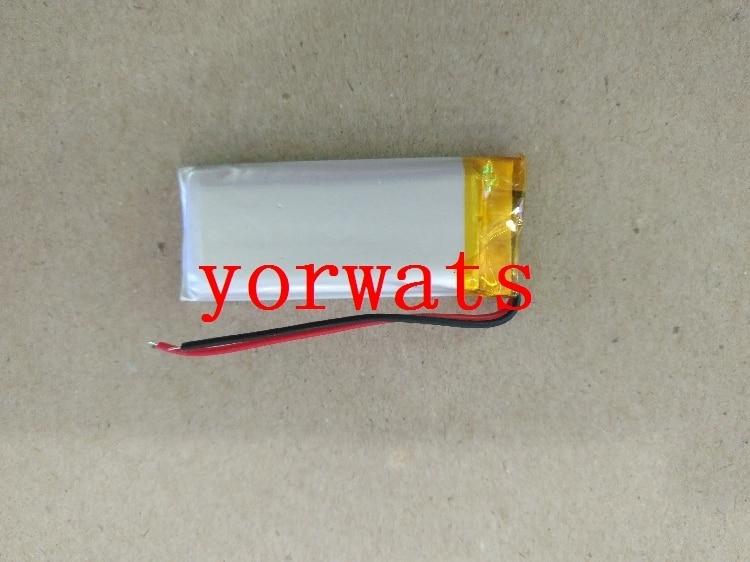 Nieuwe Hot EEN Oplaadbare Li-Ion Cell 3.7 v lithium polymeer batterij 702050 750 mah volwassen producten muis klik pen therapie