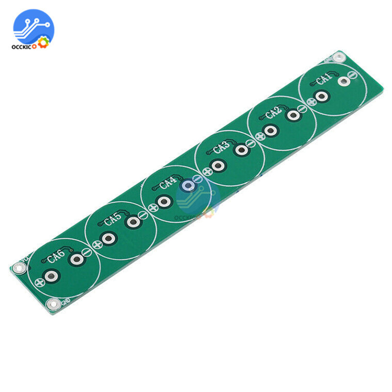 1Pcs 6 String Super Capacitor 2.7V 220F 350F 360F 400F 500F 800F Capacitor for Power Battery Charging Balancer Protection Board