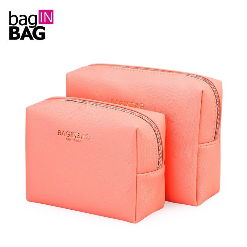 Baginbag Fashion Cosmetic Bag Large Capacity Makeup Bags Waterproof Storage Bag Cosmetic Cases