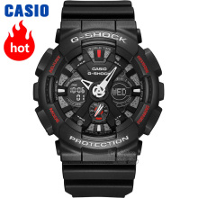 Casio watch Anti - shock outdoor sports double display electronic watch GA-120-1A GA-120A-7A GA-120TR-1A GA-120TR-7A купить недорого в Москве