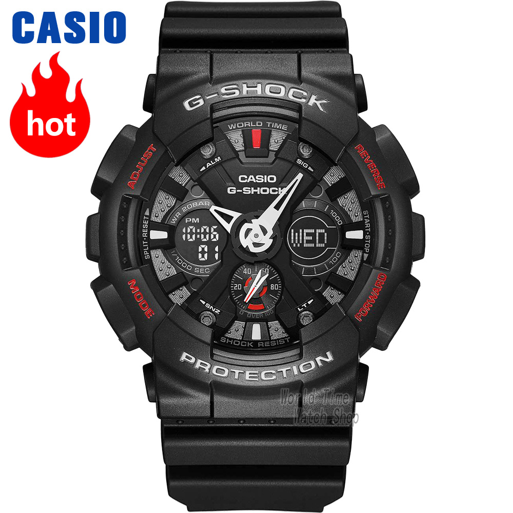 Casio watch G-SHOCK Men's quartz sports watch fashion trend shockproof waterproof g shock Watch GA-120