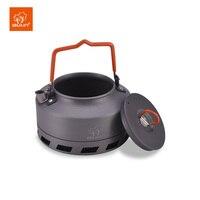 Bulin 1L Camping Wasserkocher Wärme Tauscher Tee Topf Picknick Wasserkocher Aluminium Legierung-in Outdoor-Geschirr aus Sport und Unterhaltung bei