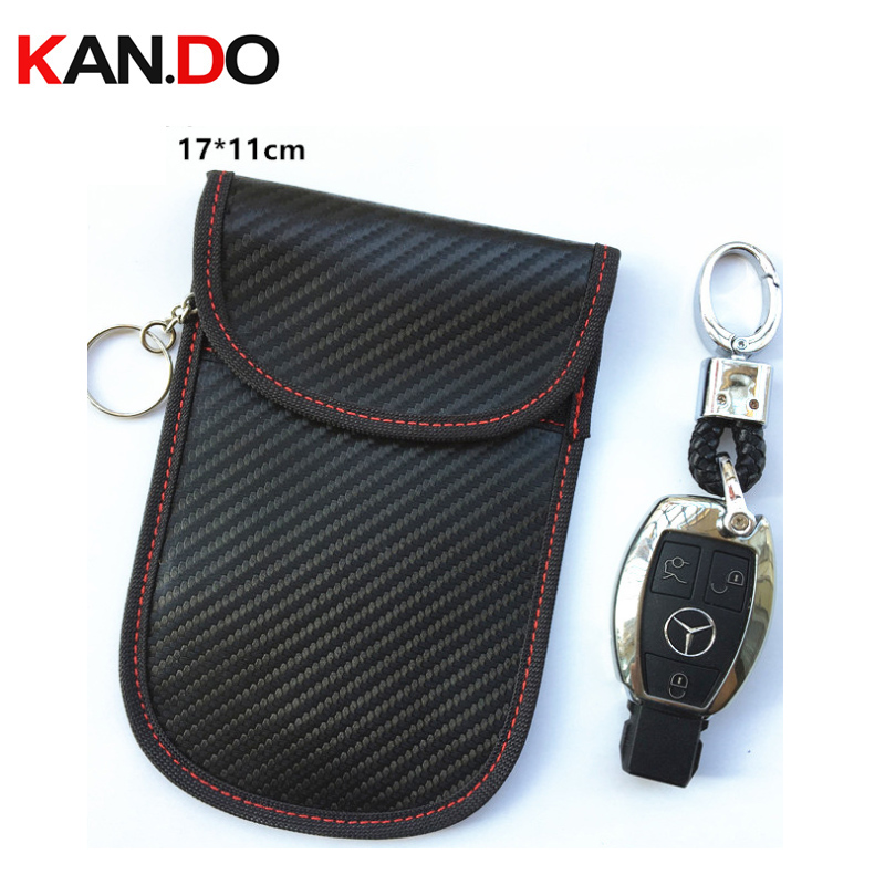 Big Size Car Key Jammer Bag Card Anti-Scan Sleeve Bag For Phone Signal Blocker Protection Jammer Remote Car Key Jammer Bag