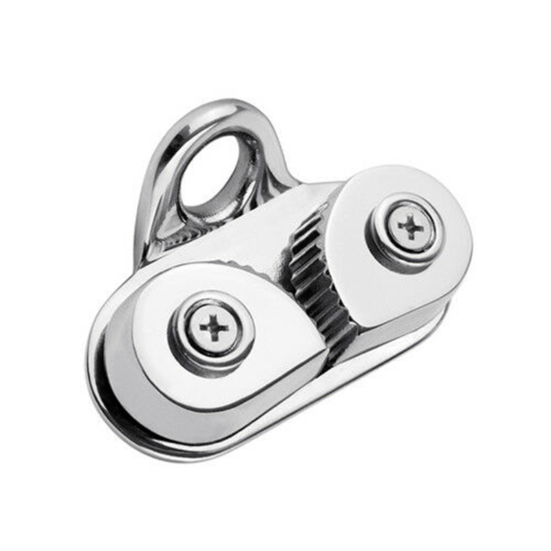 2019 New High Quality 316 Stainless Steel Car Pulley Rope Clamp Cam Cleat For Boat Marine Sailing Sailboat
