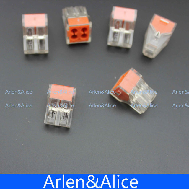 Online Shop 100Pcs PCT-104 Push wire wiring connector For Junction ...