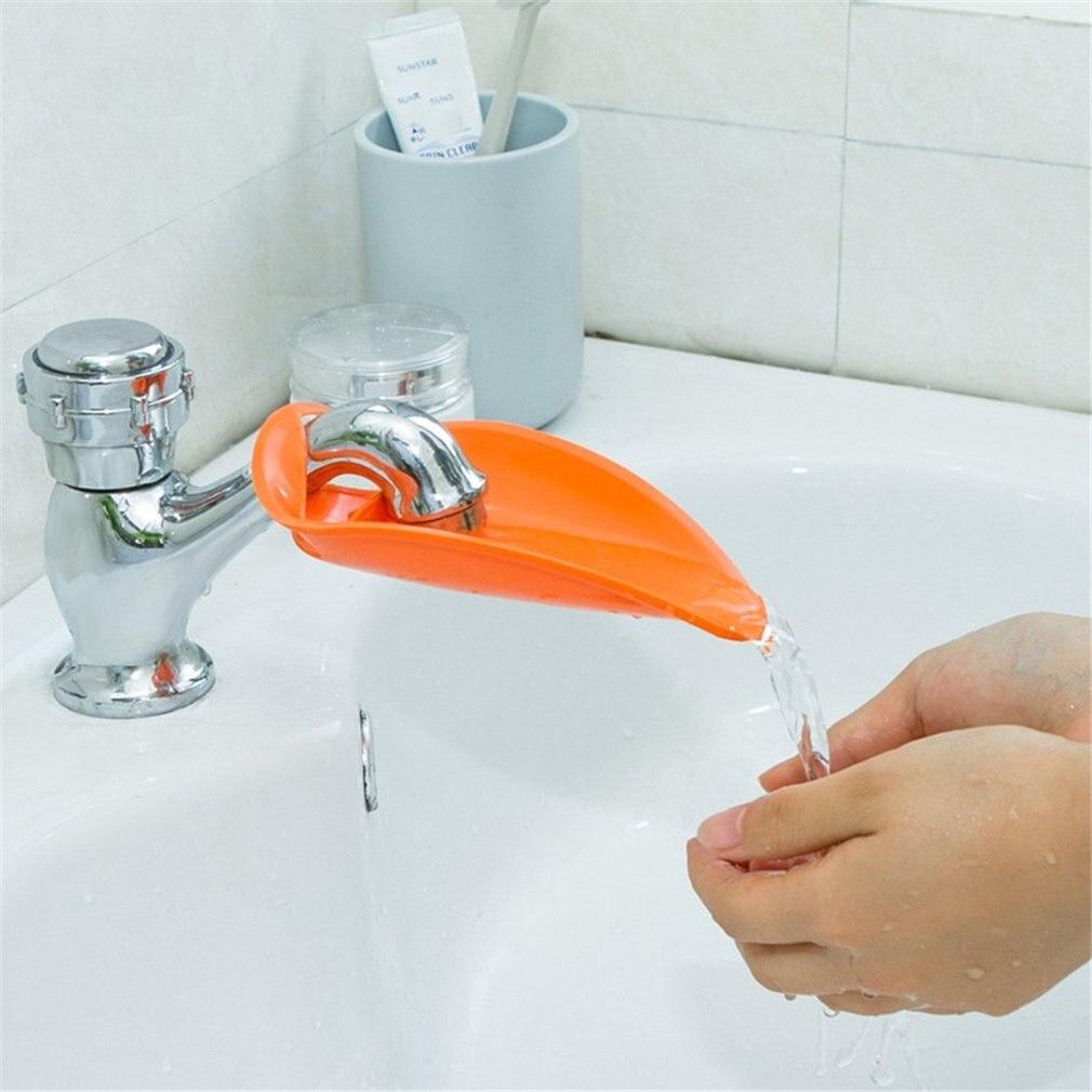 Baby Waschbecken Verlängerung Wasserhahn Erweiterung Kinder Lange Wasser Hand Waschen Gerät Wasser Dispenser Baby Hand Waschmaschine
