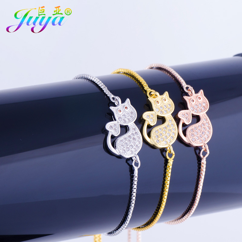 2018 New Fashion Charm Kitten Cat Bracelets Exquisite Girl A