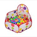100 cm plegable de los niños Kids Play Tent océano piscina de bolas bola BOBO Pit con aro Playhouse bebé casa de juegos de regalo ( bolas no inlcude )