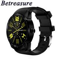 Betreasure K98H Smart Watch Android Bluetooth Heart Rate Monitor Smartwatch MTK Waterproof SIM 3G GPS Wifi