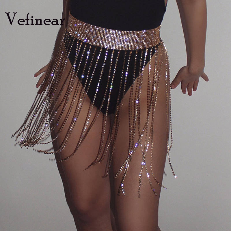 Detail Feedback Questions about Vefinear Sexy Beach Skirts 2018 Women  Summer Beach Wear Hot Tassel Cover Up Bling Bling Short length Skirt  Bohemia Sexy ... aebd092c79bb