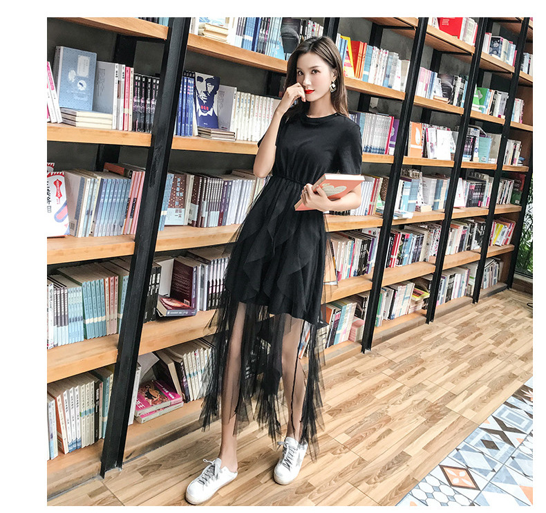 Waist Long Fashion dress 14