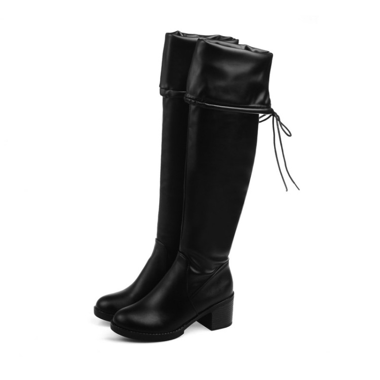 Blue Over The Knee Boots Promotion-Shop for Promotional Blue Over ...
