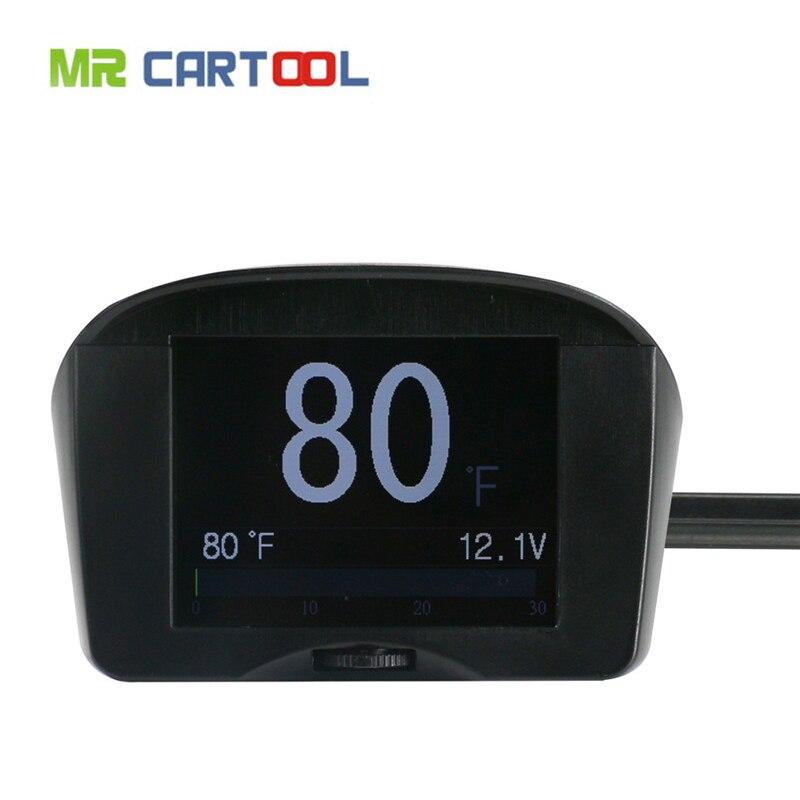imágenes para Venta caliente de Calidad Superior AUTOOL X50 PLUS Coche OBD Inteligente Digital y principios de código de falla de Alarma Multi-Función de Medidor de Fast & Free Shipping