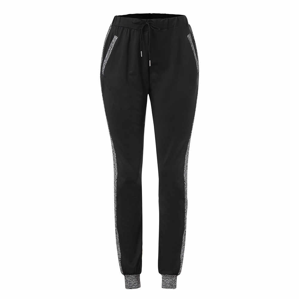 Long Leisure Pants Women Bottoms Female Clothes Jogger Haren Pants Sweatpants Sportswear Elastic Trousers Pencil Pants