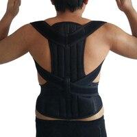2018 Adjustable Unisex Orthopedic Belt Back Unisex Exercise Back Support Band Belt Best Care Posture Corrector Orthopedic Corset