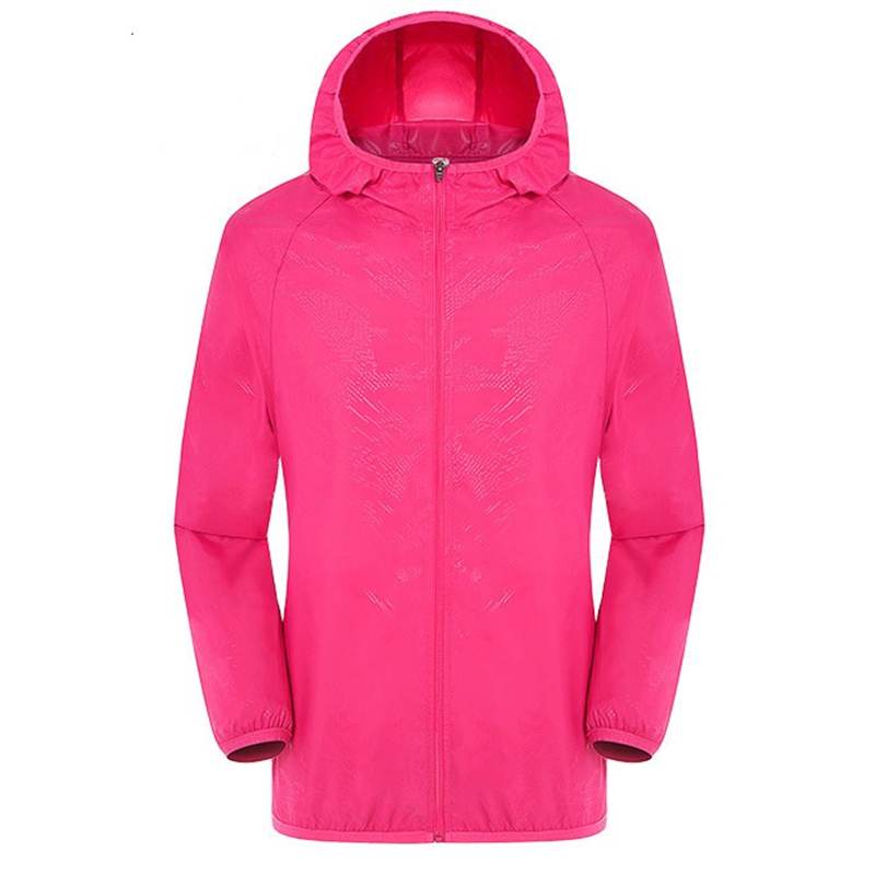 Casual Quick Dry Skin Jacket Women Summer Anti UV Ultra-Light Breathable Windbreaker Waterproof Hooded Coat Female Thin Jackets