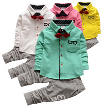In the new year, boys clothes and suits 0-4 year old clothes, autumn winter, childrens suit Christm