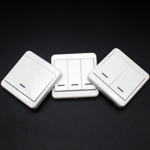 Image 2 - 433MHz Mounted Light Switch Wireless Remote Controls 86 Wall Panel RF Transmitter With 1 2 3 Buttons KTNNKG Switch