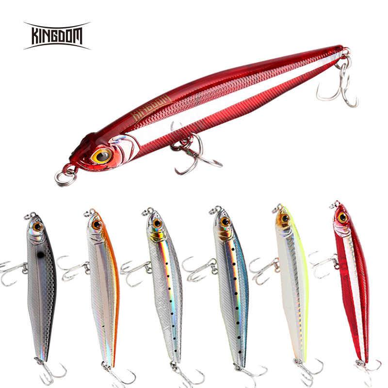 XTS морской бас Рыбалка твердая приманка для рыбалки 6 цветов Искусственный Тонущий Карандаш 100 мм 29,7 г, 85 мм 19,4 г Новое поступление Crankbait 5503