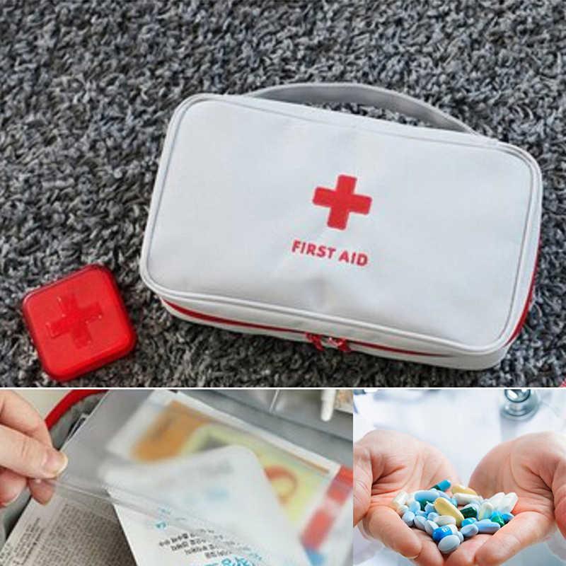 Wielowarstwowa apteczka w nagłych wypadkach pomocy Medine podróży ratownicza torba wodoodporna zestawy samochodowe torba na przechowywanie tabletek przypadku