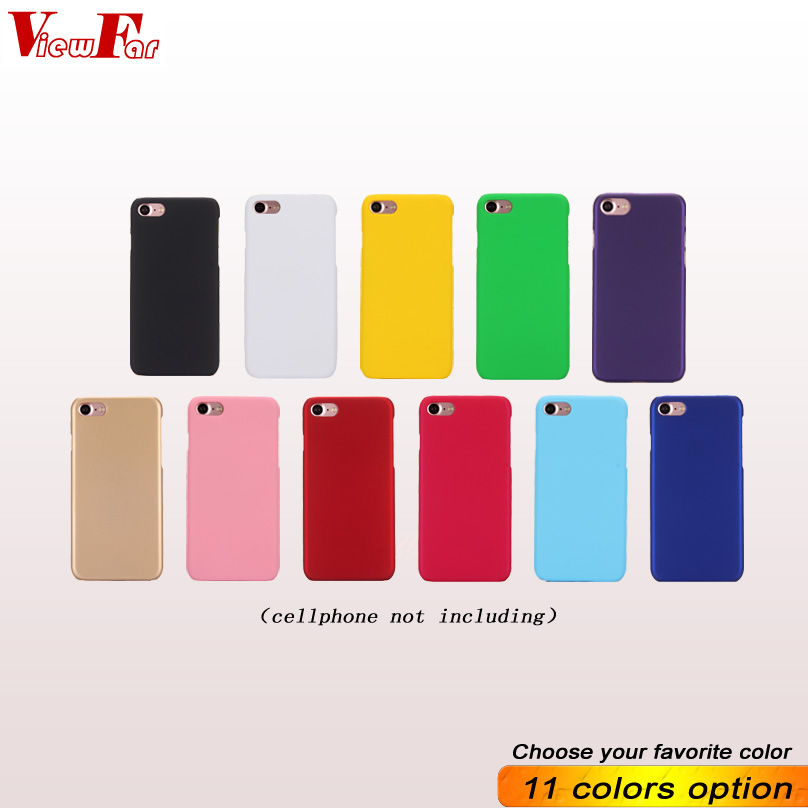 Multi Colors Case For Apple iphone 7 XR XS Max Matte Cover