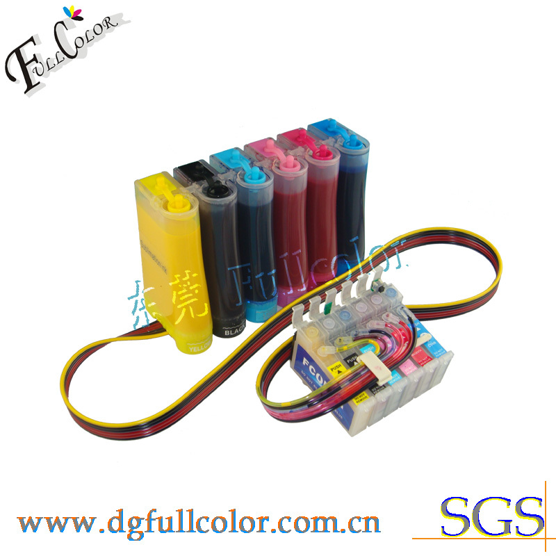 Free Shipping! Top quality Sublimation CIS ink system ciss for Stylus photo 1430W inkjet printer free shiping r2400 sublimation ink ciss with transfer ink and arc chip for 8color cis r2400
