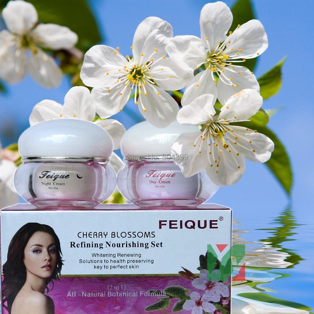 Nové čerešňové květy rafinují výživný krém na obličej proti piruční krému 20g + 20g péče o obličej