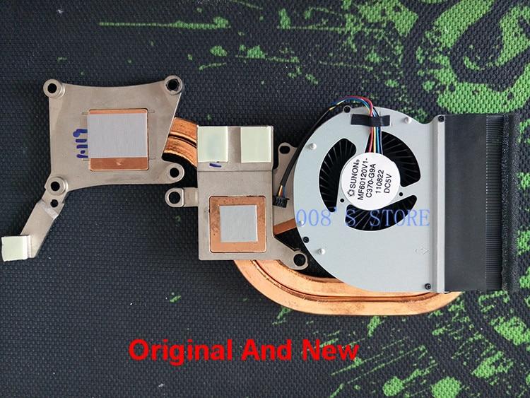 New Fan Heatsink For Dell Latitude E6430 Laptop CPU Cooling Cooler MF60120V1-C370-G9A CN-09C7T7 9C7T7 AT0LE002ZSL Radiator