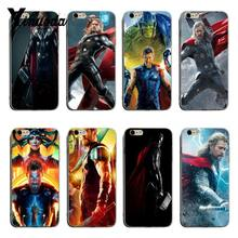 Yinuoda Chris Hemsworth Avengers Thor Adorable Colored Drawing phone Back Phone Case For iPhone X XS XR XsMax 8plus 6 6s 7 7plus(China)
