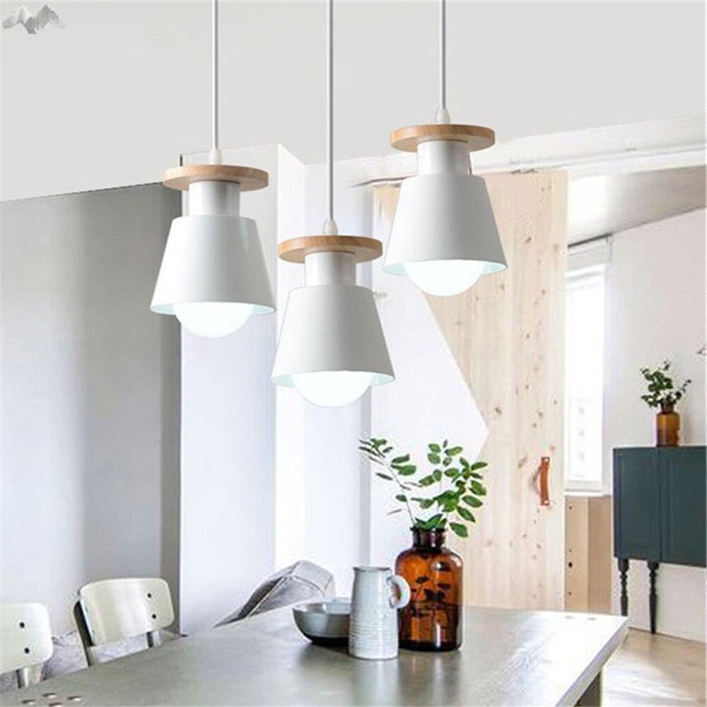 Simple Creative Modern Nordic LED Pendant Lamp Living Room Bedroom ...
