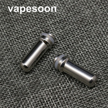 5pcs VapeSoon Stainless Steel 510 Mouth Feeling Type Drip Tip Mouthpiece For E Cigarette 510 Thread Atomizer