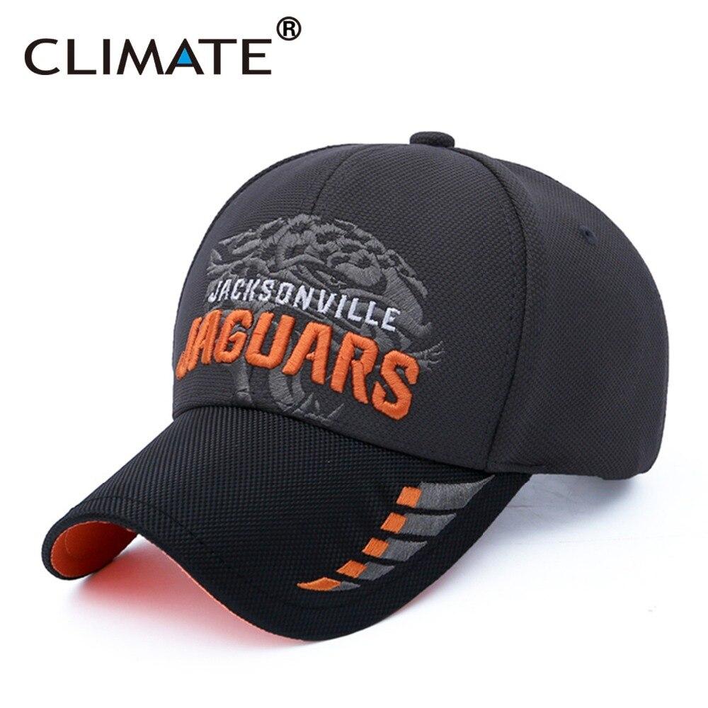 Prix pour CLIMATE 2017 USA National Jaguars Équipe Fans Super Bol De Football Jacksonville Sport de Course Hommes Femmes Réglable Chapeau Casquettes