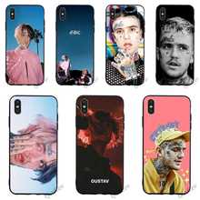 Hybrid Lil Peep Rap Bo Phone Cover for iPhone 5 Case XR X 7 8 Plus 6 6S 5S SE Xs Max Cases Skin