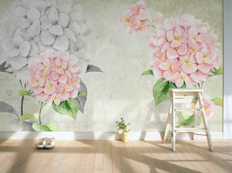 3D Wallpaper European Flowers Photo Wallpaper Wall Mural Personalized  Custom Wall Paper Room Decor Kids Bedroom Vintage Design In Wallpapers From  Home ...