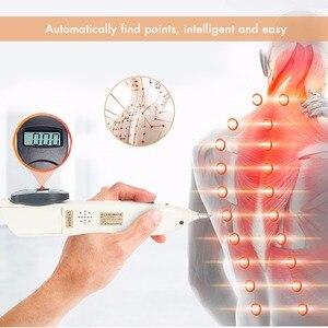 Image 2 - Digital dispositivo de pulso de acupuntura elétrica caneta massagem ativar articulações meridiano alívio da dor ponteiro detector meridiano energia caneta