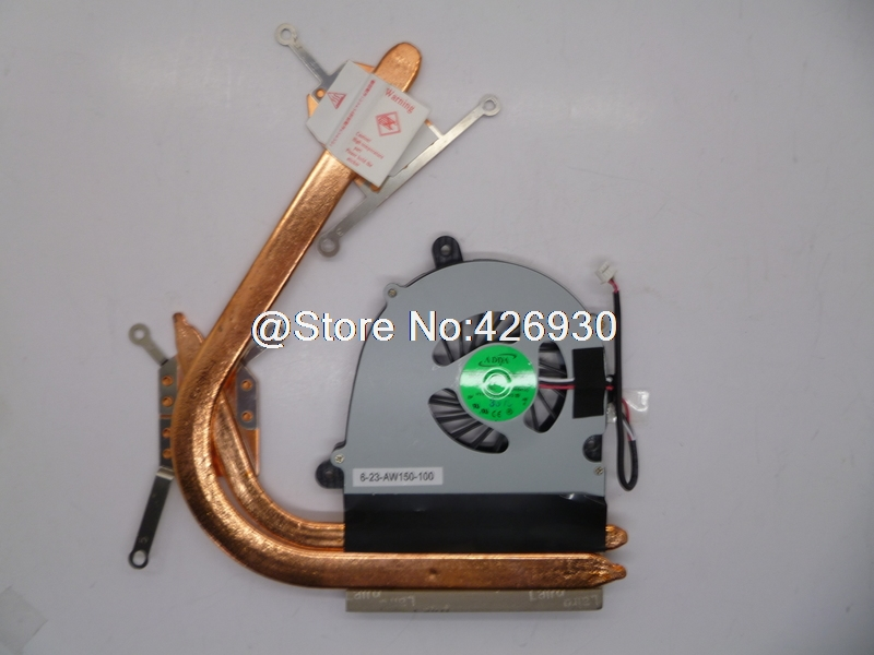 ФОТО Laptop CPU FAN For CLEVO W650EH AB7605HX-GE3 6-23-AW150-100 New Original