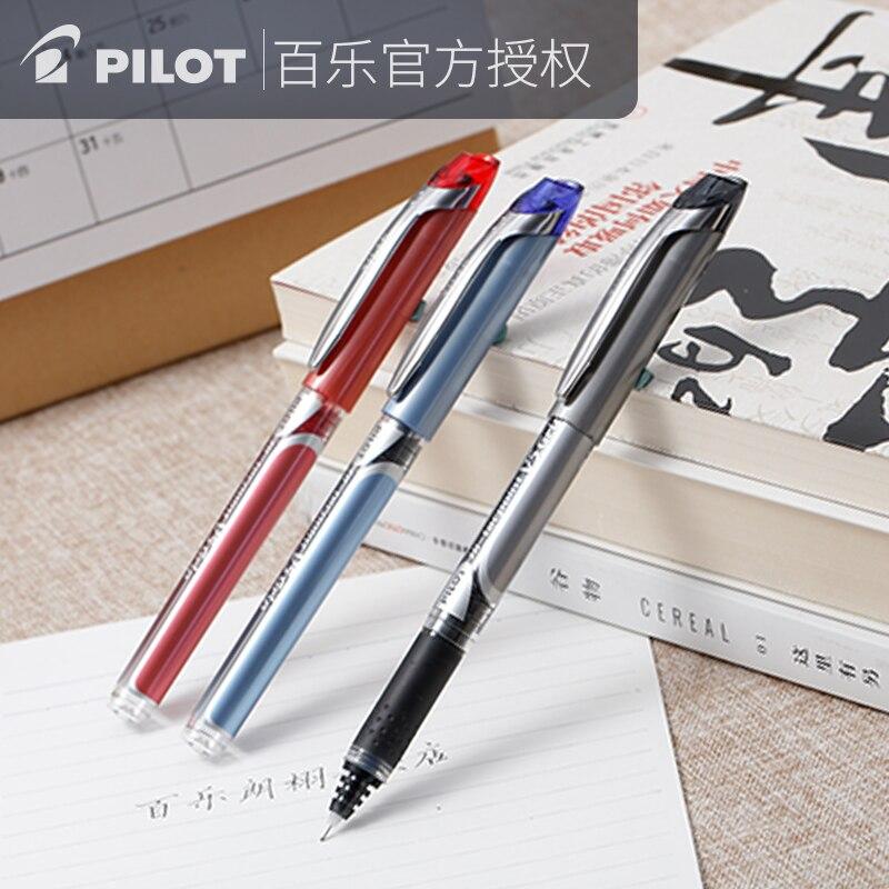 Japan PILOT Roller Pen Direct fluid pen Grip BXGPN V5 0.5mm Signature Roller Pen 1PCS|Gel Pens| |  - title=