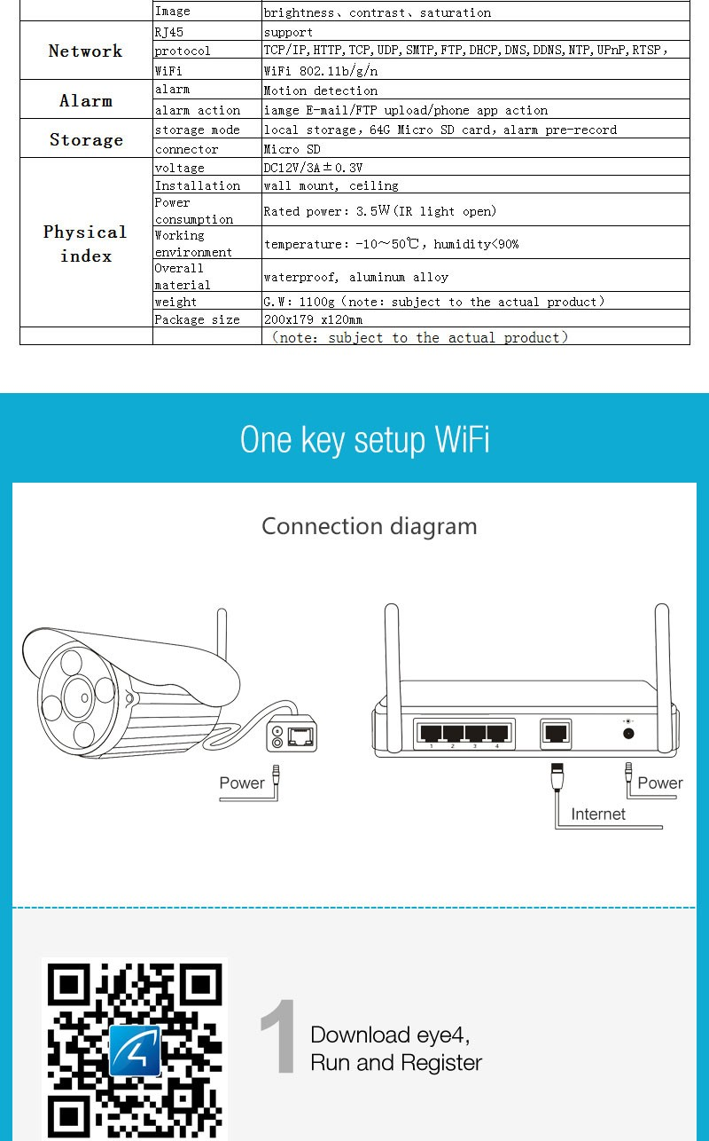 Vstarcam 1080P HD IP camera 2MP network camera C51S Wireless wifi ...